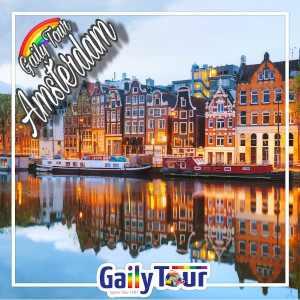 Descubra todos os segredos gays de Amsterdã em uma excursão gay