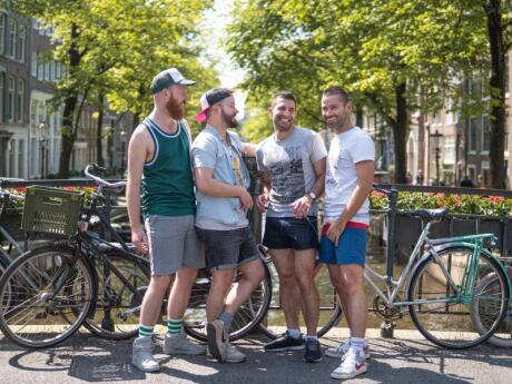 Find out all of Amsterdam's best gay spots on a gay tour of the city