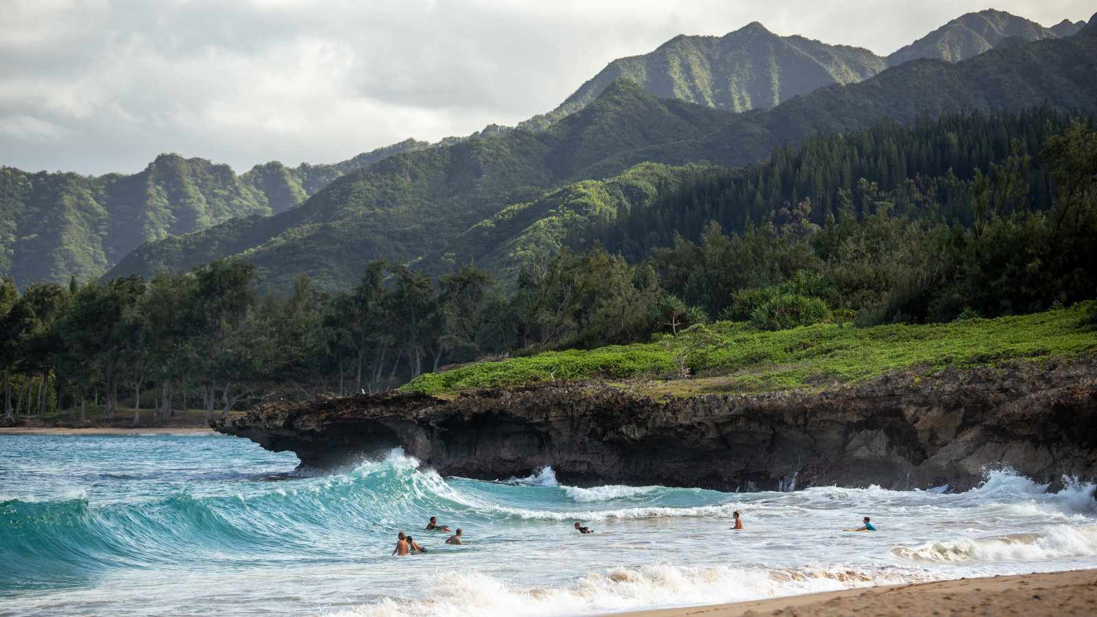 Hawaii is a stunning spot for a gay staycation in the USA, particularly Little Beach