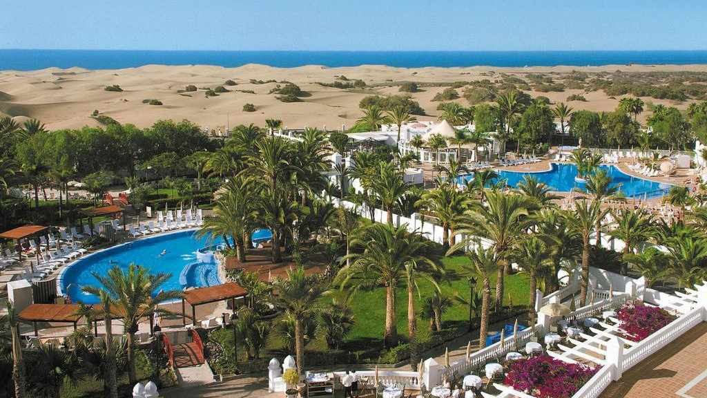 Hotel Riu Palace Maspalomas is a gorgeous resort in Gran Canaria and while it's not gay exclusive it does have a separate pool for adults only