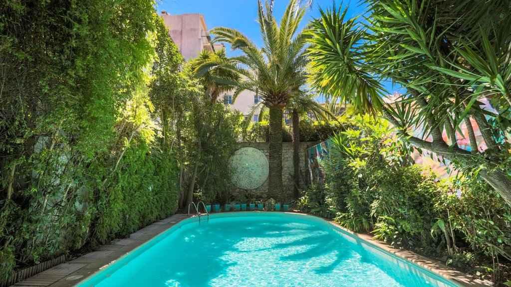 O Hotel Windsor é um lugar muito artístico, com uma fabulosa piscina