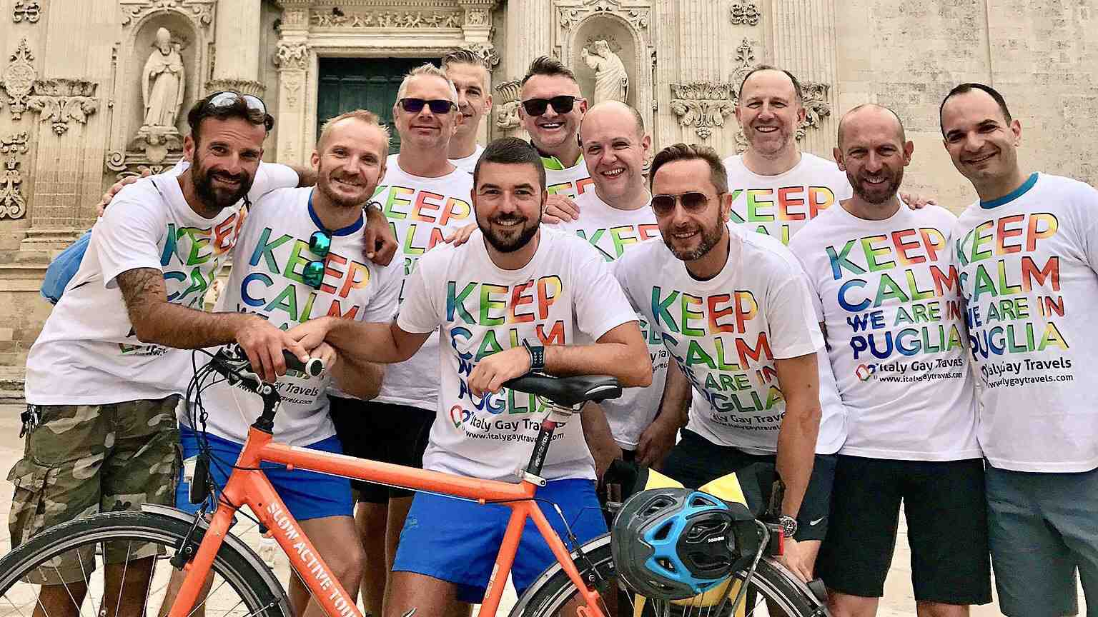 Our friend Sergio organises fabulous gay tours of Puglia which we definitely recommend