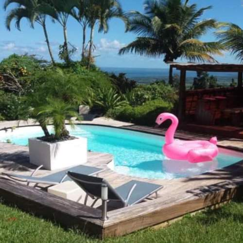 Les Jardins de Zephyr is a fabulous gay-male-only guesthouse on the stunning Caribbean island of Guadeloupe