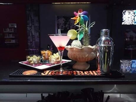 Marilyn bar is a great place to visit for cocktails, food and handsome Italian men!