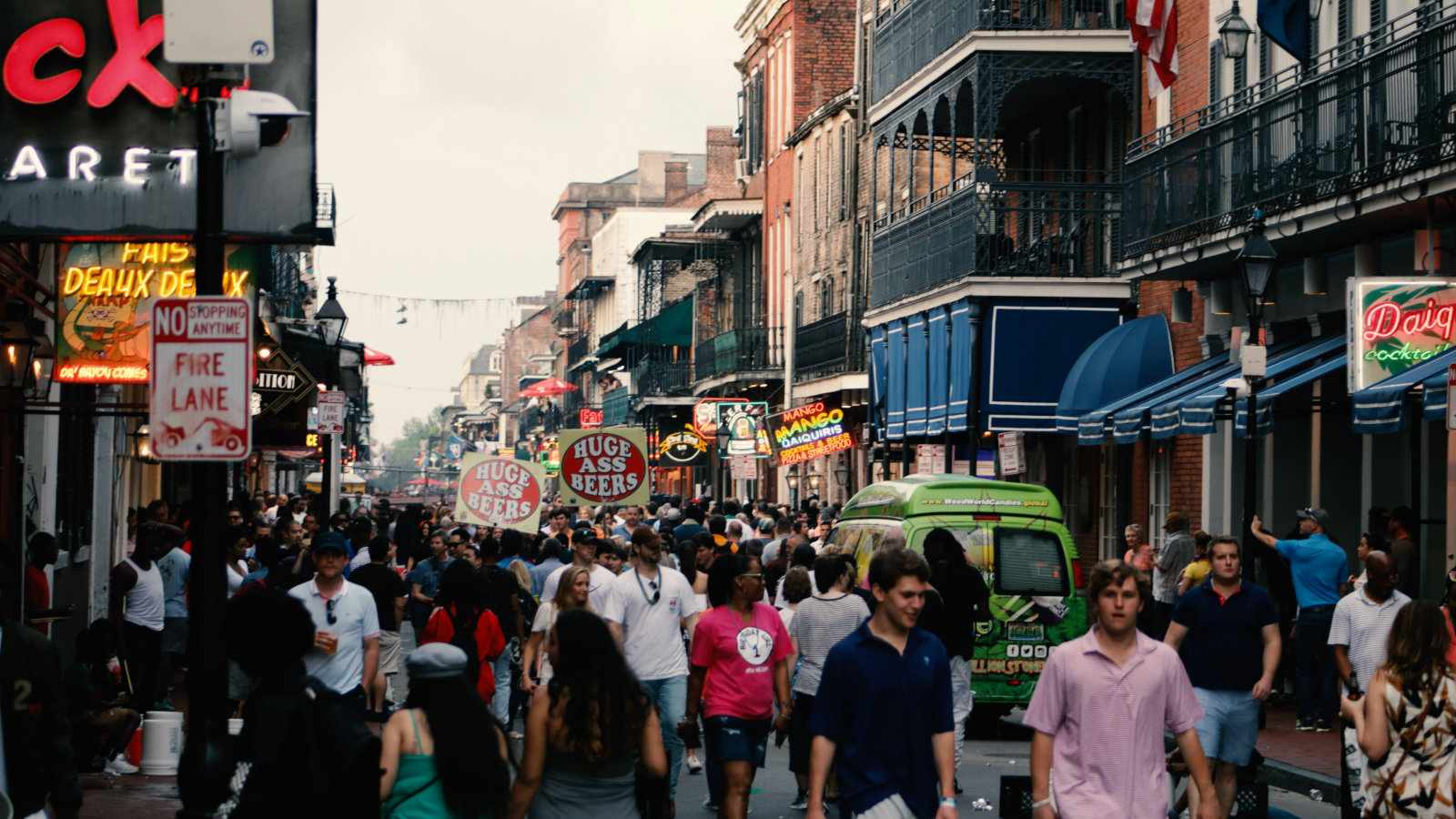 New Orleans is filled with gay culture and one of the best gay vacation spots in the world