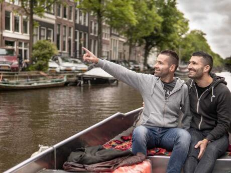 Cruising Amsterdam's canals is a must-do in order to experience the beauty of the city