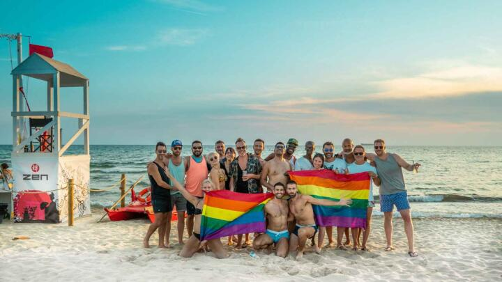 Salento Pride is a fabulous gay celebration with plenty of beach time in Italy