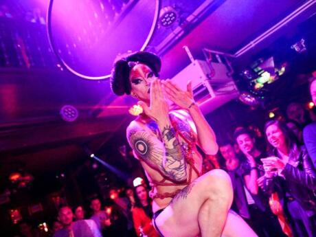 SoHo is one of Amsterdam's best gay bars which gets super busy and exciting on weekends!