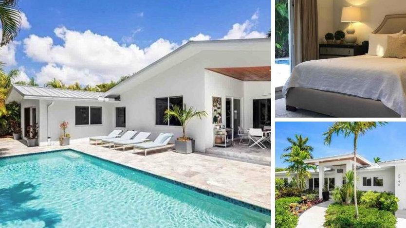 Fique em um quarto privado neste adorável Airbnb gay em Fort Lauderdale, com piscina e lindo jardim