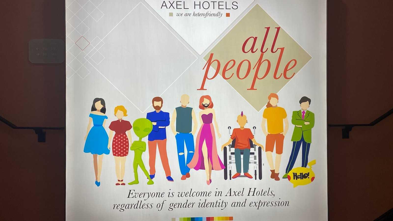 Os Axel Hotels se definem como 'hetero-friendly', o que significa que são os lugares mais gay para se hospedar em todo o mundo