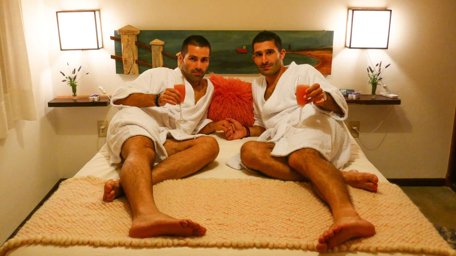 Looking for gay accommodation is a top travel safety tip for gay couples traveling