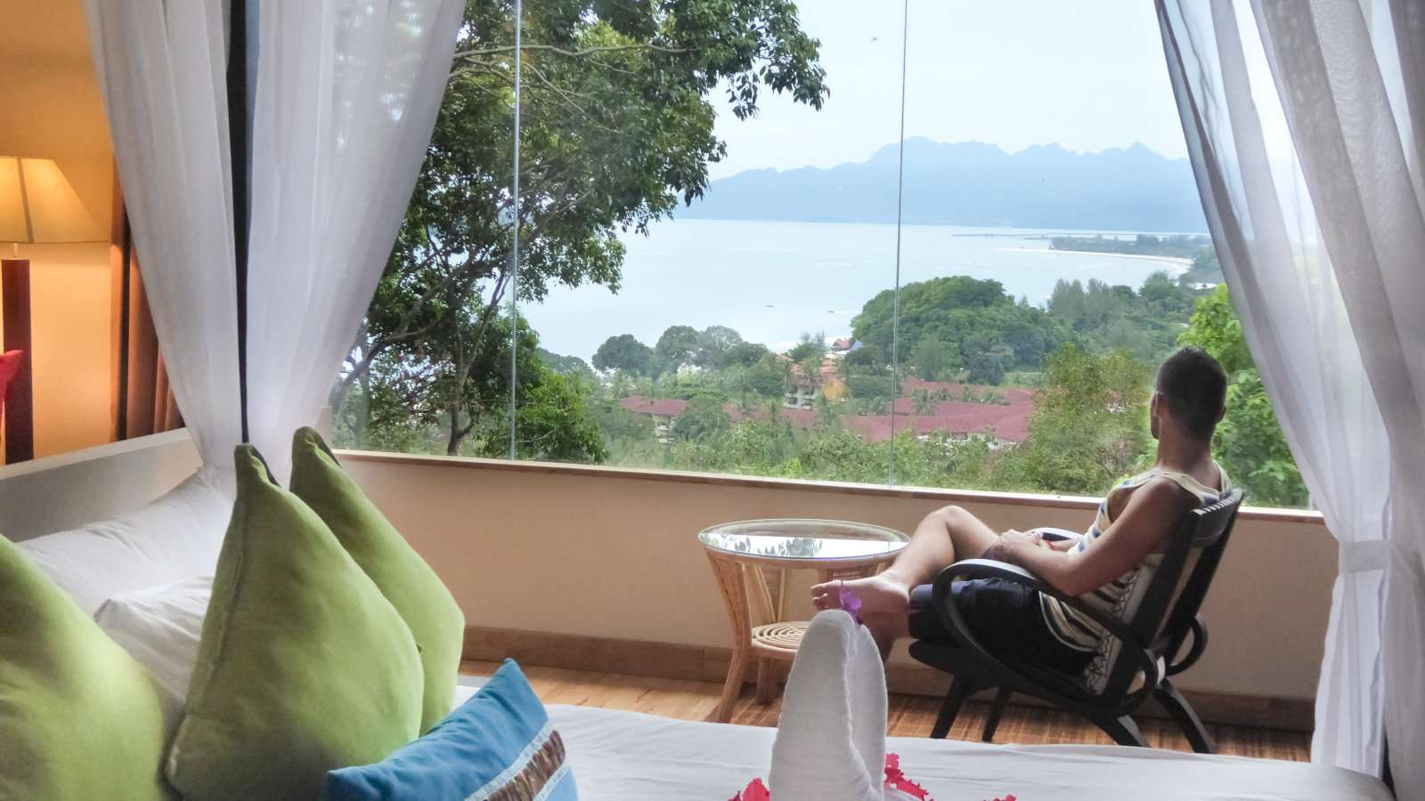 Ambong Ambong is a luxury jungle retreat in Langkawi which we found to be the most gay friendly on the whole island