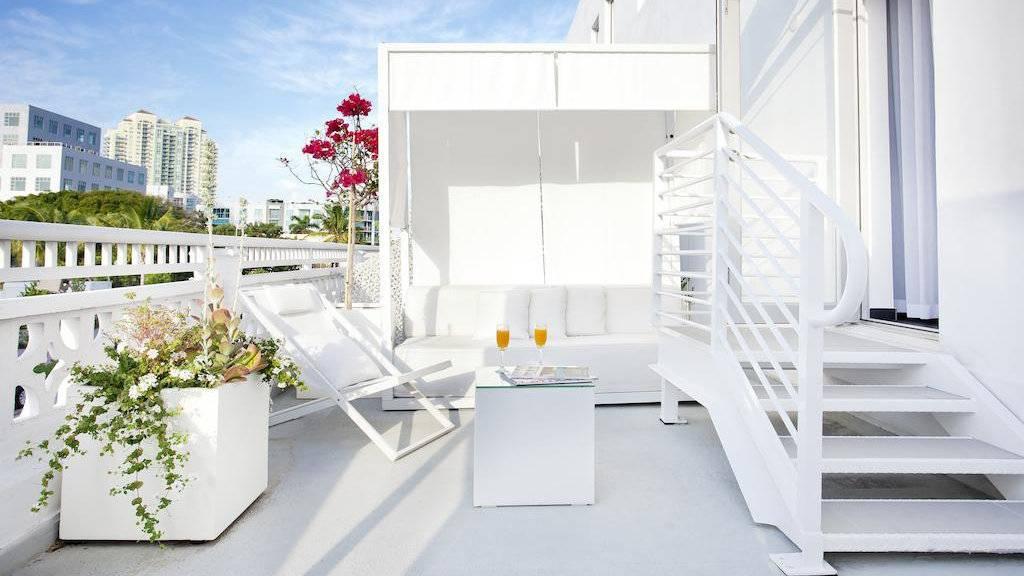 O Blanc Kara é um hotel boutique exclusivo para adultos em Miami que é simplesmente adorável