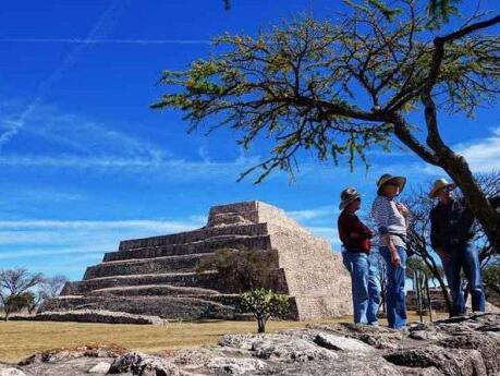 As pirâmides do Canada de La Virgen foram originalmente construídas por volta do ano 530 DC e são imperdíveis se você estiver visitando San Miguel de Allende