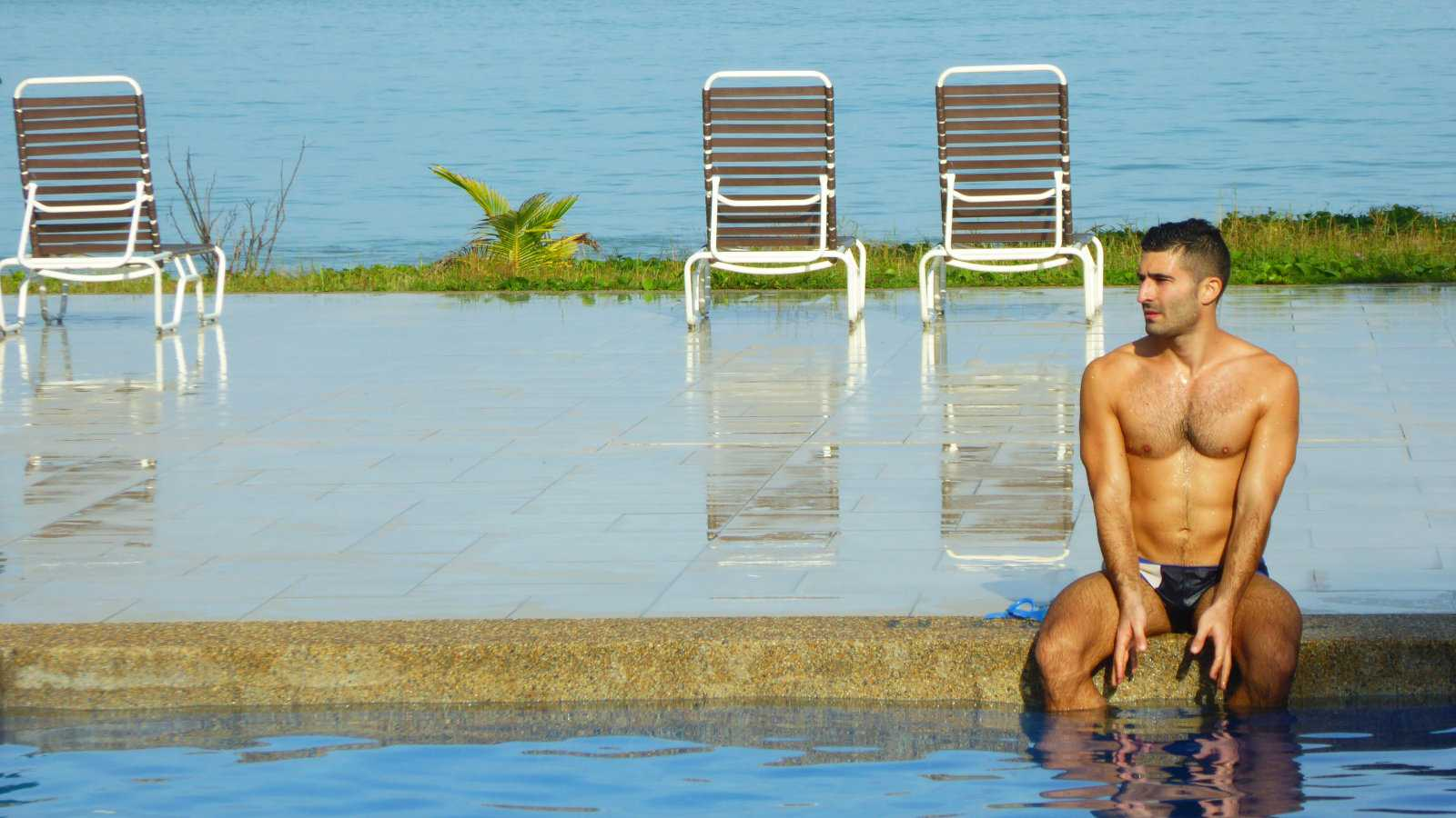 The Frangipani Langkawi Resort and Spa is a gorgeous gay friendly hotel with both a private beach and a swimming pool!