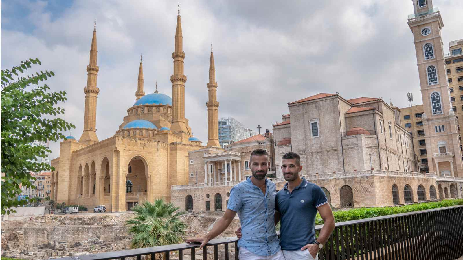 Nomadic Boys in the Middle East