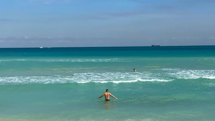 Miami has gorgeous beaches, including a couple of gay ones where you can even do some skinny dipping