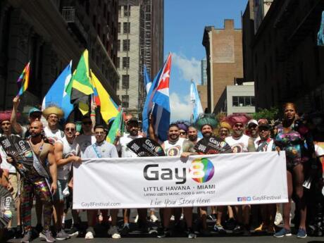 O Gay8 Festival de Miami é o primeiro evento gay do ano, com muitas festas divertidas em fevereiro