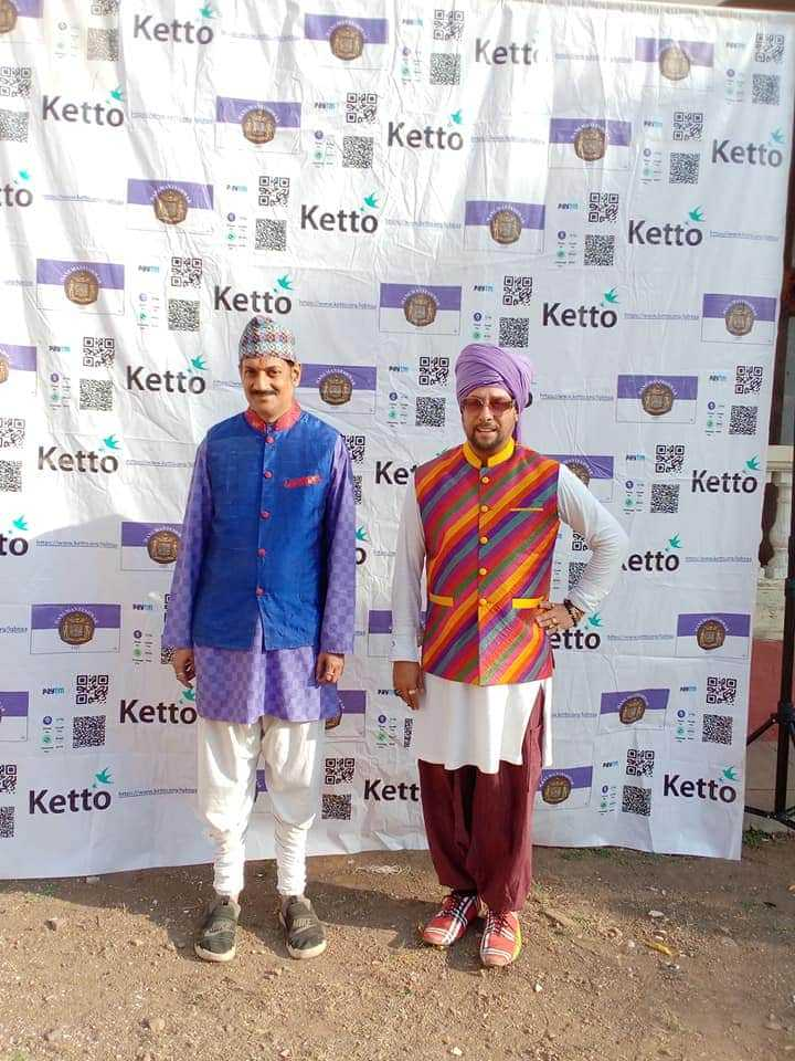 Cute couple Manvendra and DeAndre out and about