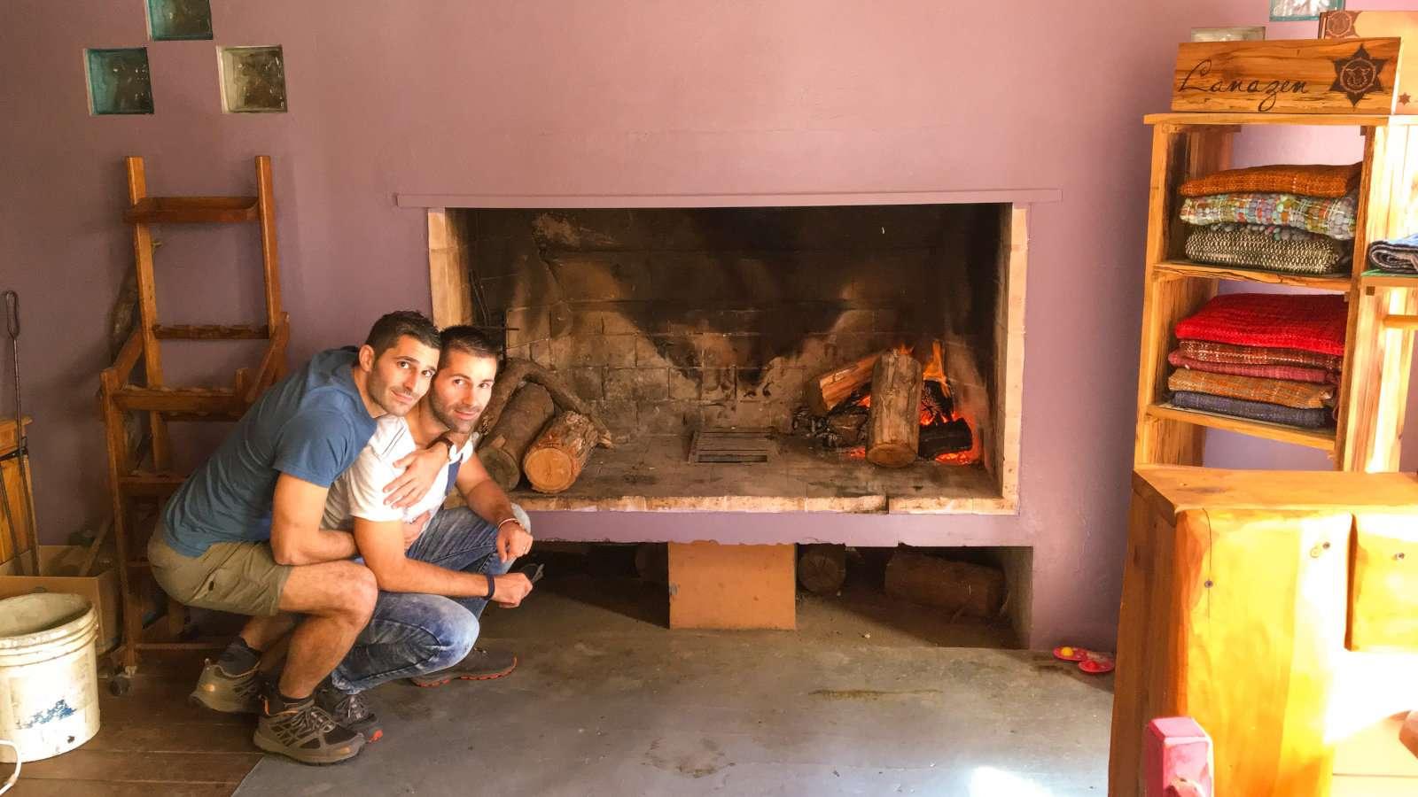 As suítes Il Tano são muito românticas para viajantes gays no Uruguai