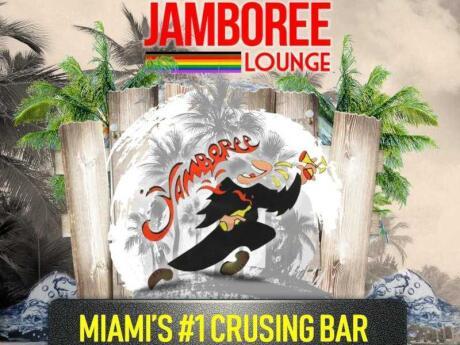 Jamboree Lounge é um bar de mergulho em Miami que também é conhecido como um ótimo ponto de cruzeiro
