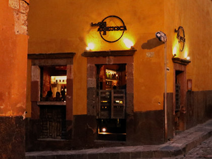 La 21 Unica Cantina is a great place to relax in San Miguel that serves lots of delicious margaritas and tequila shots