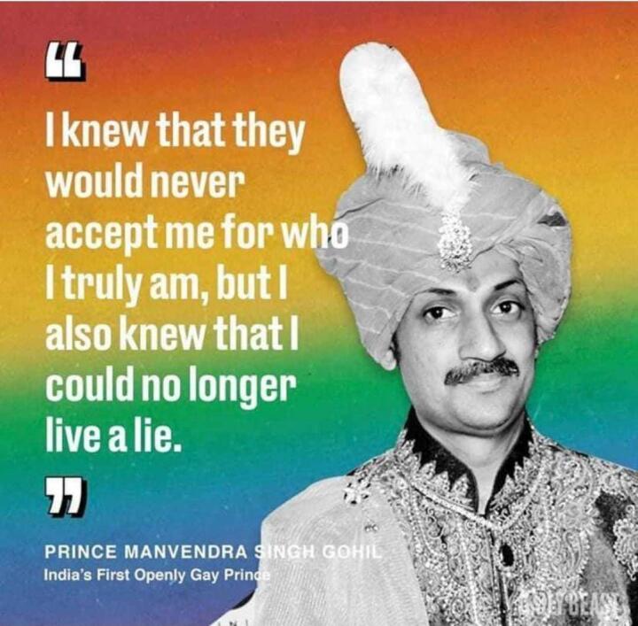 Príncipe Manvendra Singh é o primeiro príncipe indiano abertamente gay