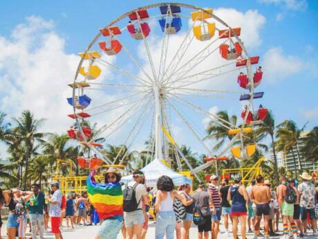 Orgulho de Miami Beach é um dos melhores eventos do orgulho gay nos EUA!