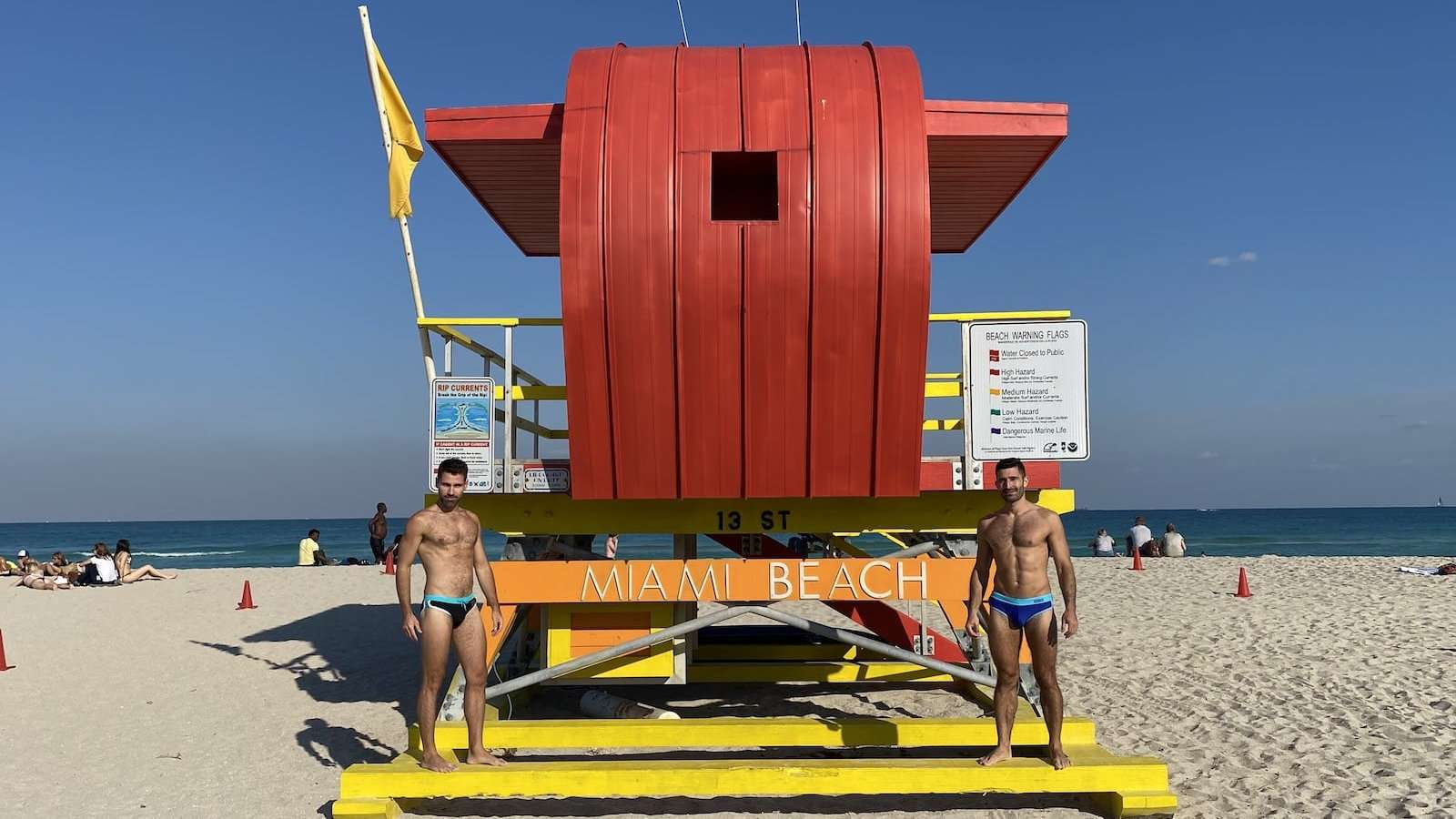 The beaches are fab in Miami, but you'll need to keep your clothes on in the resorts!