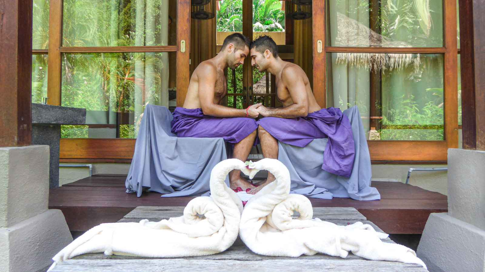 The Four Seasons in Langkawi is one of the most gay friendly hotels on the island, plus it's incredibly opulent and relaxing