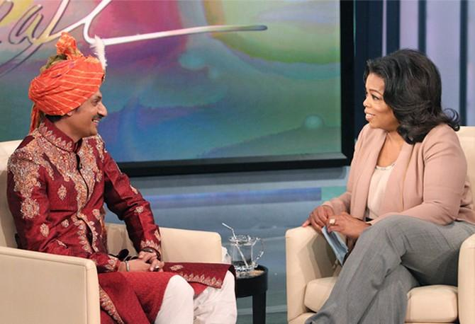 Manvendra says Oprah is genuine, kind and well-informed about Indian LGBTQ+ history