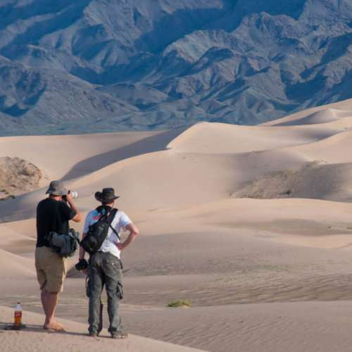 If you ever wanted to visit the Gobi desert you can do it on a gay tour with Out Adventures