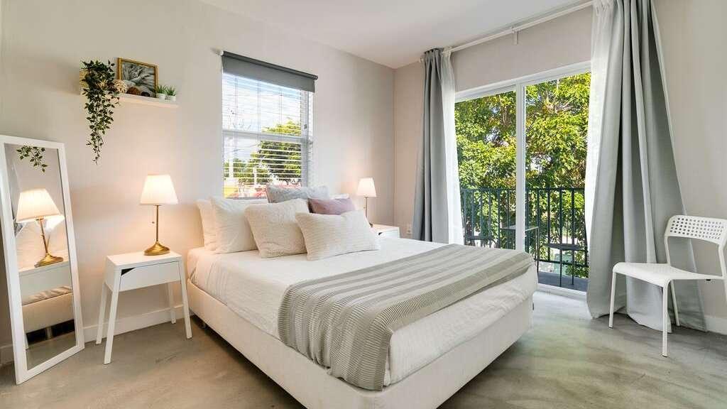 Wynwood Place é um conjunto de apartamentos chiques em Miami que incluem estacionamento gratuito