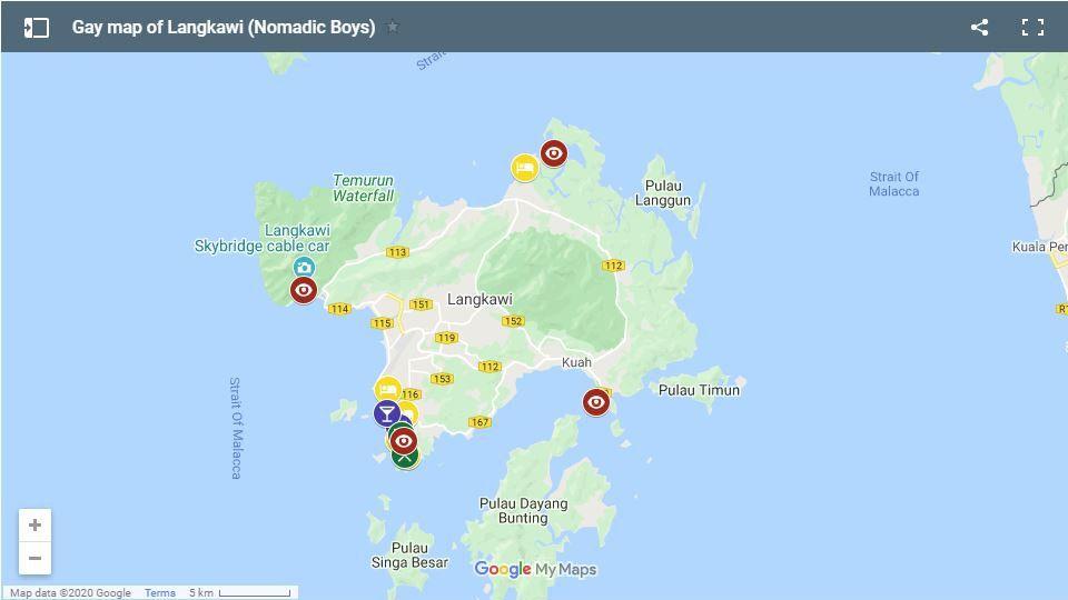 Veja todos os nossos hotéis, bares, restaurantes gay friendly favoritos e muito mais na ilha malaia de Langkawi