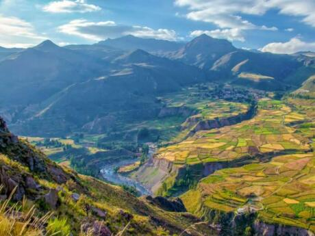 The Colca Canyon is one of the deepest canyons in the world and a must-visit while you're in Arequipa