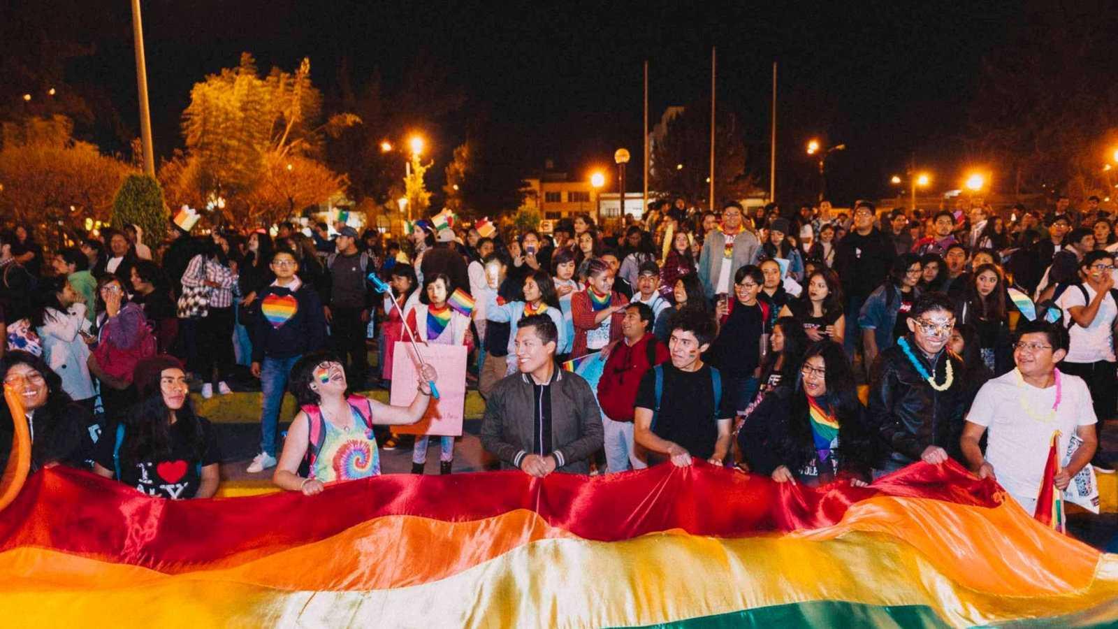 Arequipa tem uma marcha do orgulho gay em junho, onde a multidão LGBTQ local pode comemorar e se manifestar