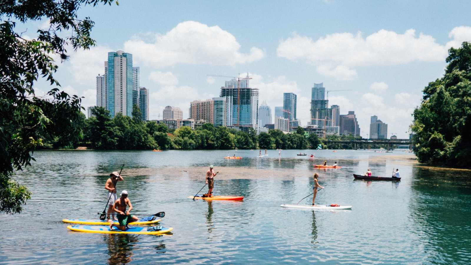 Even though it's in the conservative south, Austin in Texas is still one of the gayest cities in America