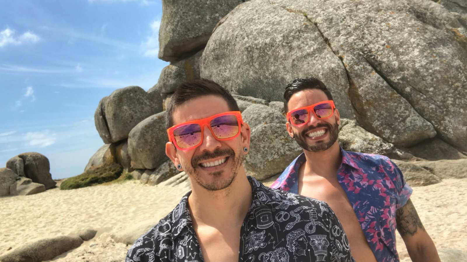 Auston of Two Bad Tourists is one of our good friends and he shared his coming out story with us here
