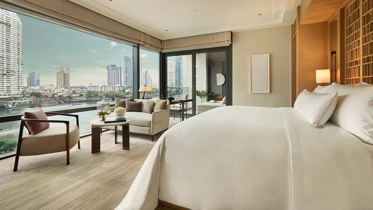 O Capella Bangkok é um novo hotel de luxo com vistas deslumbrantes sobre o rio