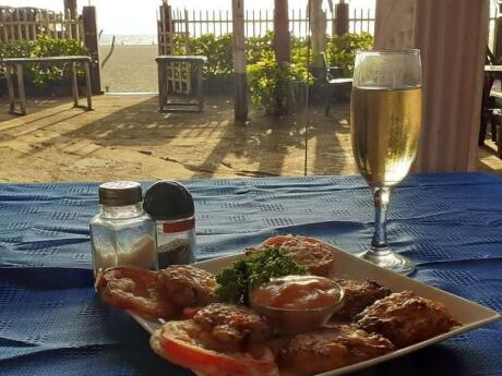 Dolce Vita in Negombo is a gay friendly cafe that does divine coffee and pastries as well as meals, right beside the beach!