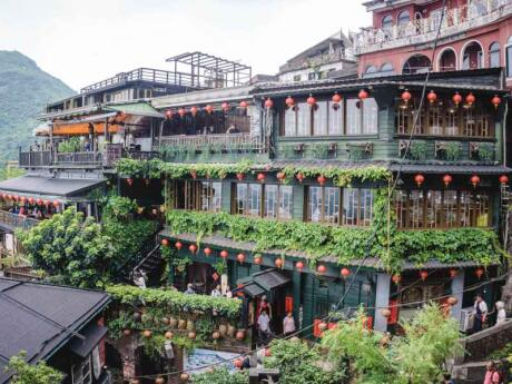 If you liked the movie Spirited Away then you will love Jiufen in Taiwan