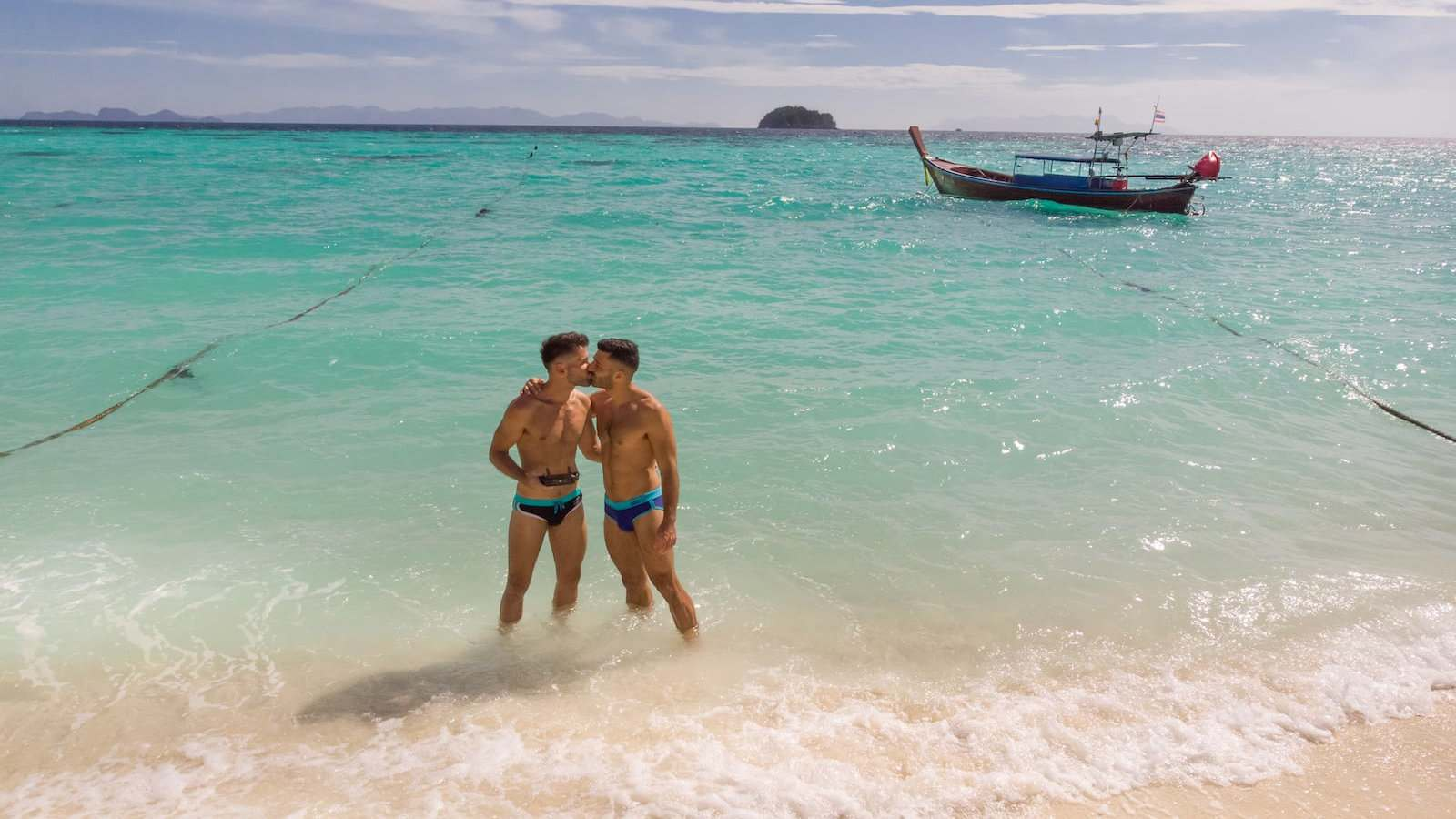 Koh Lipe is one of our favourite gay islands in Thailand