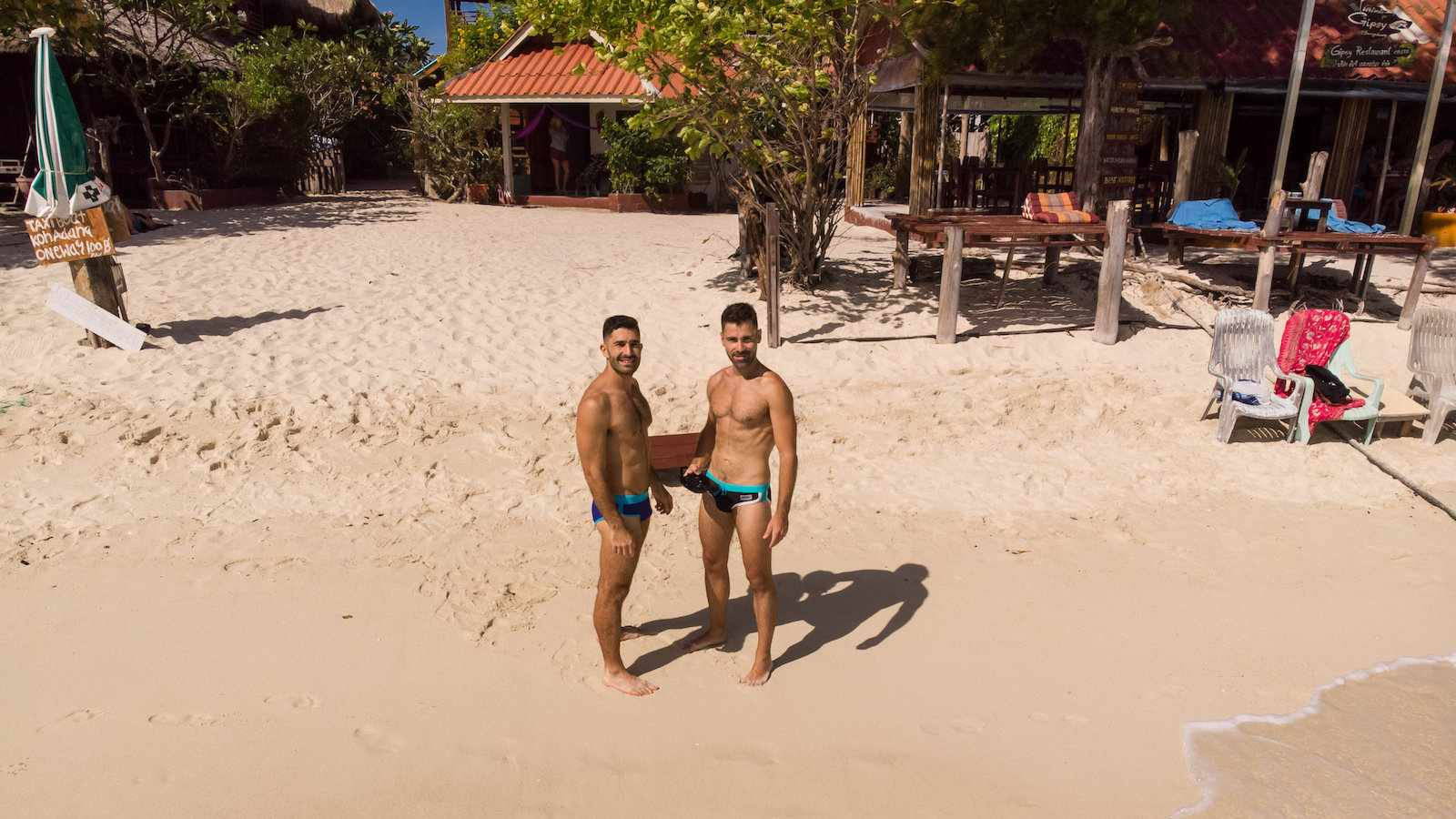 Koh Samet is popular with gay guys from Bangkok and you will love it too!