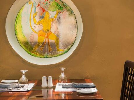 Koththamalli by Rohan is a divine vegetarian/vegan restaurant in Negombo at the Jetwing Ayurveda Pavilions