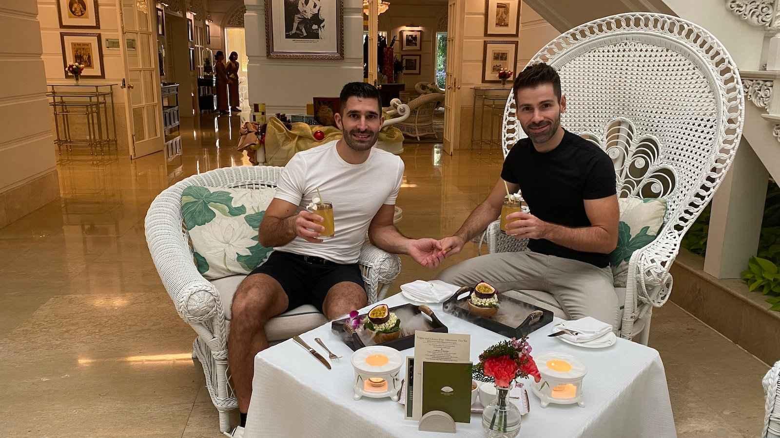 O Mandarin Oriental é um lugar de alta classe e amigável para gays durante sua visita a Bangkok