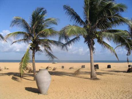 Spending time on Negombo Beach is pretty much non-negotiable if you're visiting Negombo