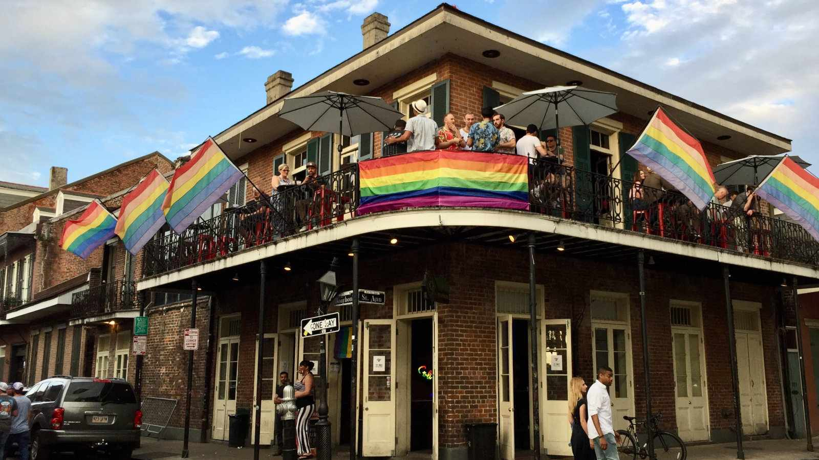 It's no surprise that as the home of Mardi Gras, New Orleans is one of the gayest cities in America