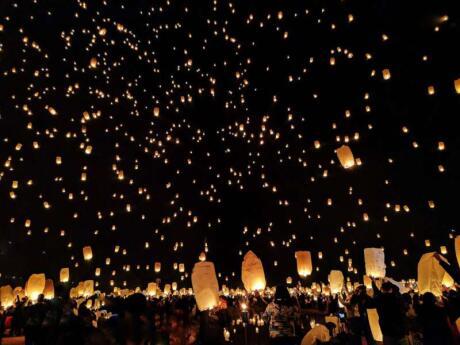 The Pingxi Lantern Festival is an incredible experience to have in Taiwan, but you can also release your own lantern at any time of the year