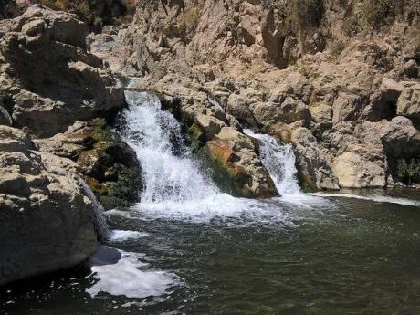 A Cachoeira Sogay perto de Arequipa tem um nome engraçado e também é muito bonita para se visitar!