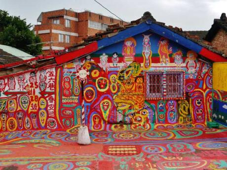"""Taichung is Taiwan's """"second city"""" and home to the fabulous rainbow village, a must-visit for gay travellers!"""